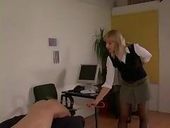 Office Dommes Spank Guy