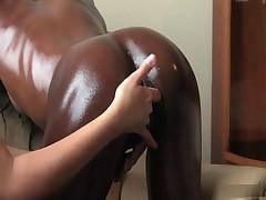 Interracial Lesbian Massage - Cireman