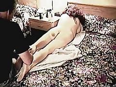 Friend massaging Angel