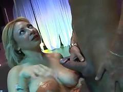 Busty Italian MILF-Club Slut