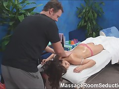 Massage Therapist Fucks Hot Teen!