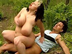Monique East -Massive tits!