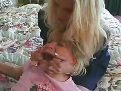 Babysitter Gets Caught!