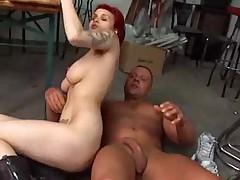 Busty Redhead German Teen