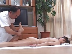 Horny Japanese Wives Massaged and unreliably Fucked at one's disposal Home 4 - CM