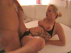 Blonde German Teens MFF 3Some and Cum Swapping
