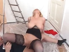 German Pierced Mature Fucked In The Ass