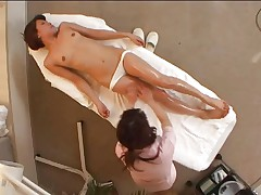 Orgasm at Spa Massage Part 1