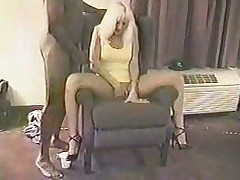 Blonde white wife with black lovers - Homemade Interracial Cuckold
