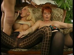 German threesome on the sofa - LC06