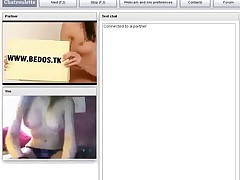 Chatroulette #54 perfect italian tits