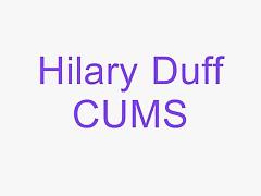 Hilary Duff Cumming Hilary Duff sings she is Cumming