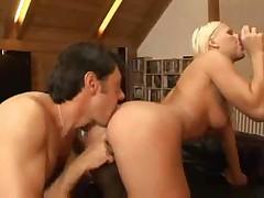 Italian Anal Blonde S88