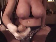 Lisa Berlin HARD FUCKS a ass slave with her GIANT STRAPON