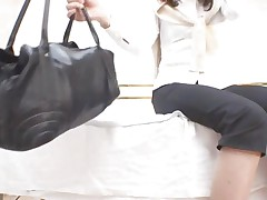 Spycam Woman fucked to orgasm by health massager Part 1