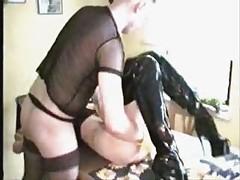 My blond fetisch slave