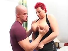 German Redhead BBW