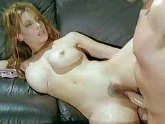 Christy Canyon fucking her boss in the office