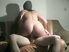 German Brunette Homefuck