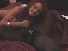 Sexy milf housewife and her huge black lover