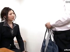 Asian Femdom Cuckold Strapon Sex