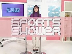 Japanese bukkake- Sport shower news