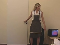 Cute German Gril Work In Hotel