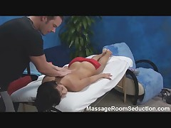 Hot Hungarian Teen Seduced in Massage Room