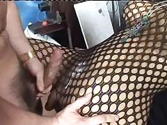 Camilla Jolie in body stocking