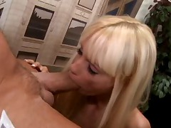 Super sweet Barbie office fuck