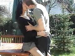 German outdoor sex!!