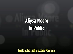 Aliysa Moore - Awesome Public Display - BestPublicFlashing