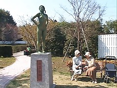 Asian Statue Woman