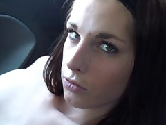 Amateur in the car