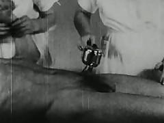 Vintage massage porno