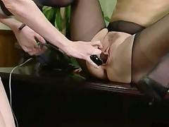 Hot Mature Lesbian Sex In The Office - Chloe Nicole