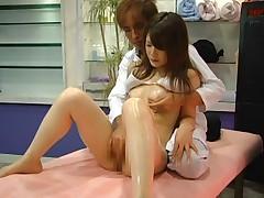 Young Model Massage Orgasm Part 2