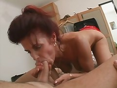 Older German Landlady Molests Young Tenant - Cireman