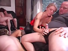 A German orgy party