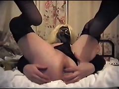 Masturbating Fuck  My Ass Banana Insertion