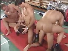School Gym Orgy by snahbrandy