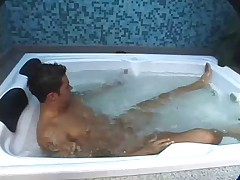 Shemale and Dude Sex in Bath