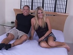 Young Blonde Wife gets BBC and Hubby Smiles! Rd and Comment