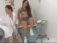 Nurse Pull her White Panties Aside 14 xLx