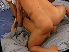 milf gets nailed in the ass