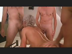 Hot amateur gangbang in germany part 3 of 6 - german - csm