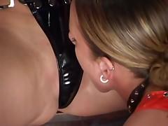 Lesbians in latex