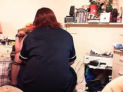 Sissy gets Some Devotion from TV Nurse Ruth