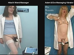 AllyCDTV and Roanna in Vibrator Shoot Out