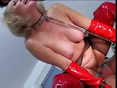 Erica Lauren - Mature DP In Latex S88